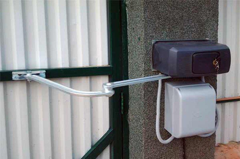 картинка электропривода для ворота